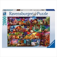 Ravensburger World of Books Puzzle 2000 Piece Jigsaw Puzzle for Adults – Sof