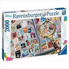 Ravensburger 16706 Disney Stamp Album - 2000 Piece Puzzle for Adults, Every Pi