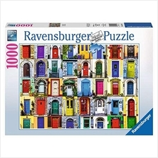Ravensburger Doors of the World 1000 Piece Jigsaw Puzzle for Adults – Every