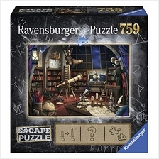 Ravensburger Escape Puzzle Space Observatory 759 Piece Jigsaw Puzzle for Kids
