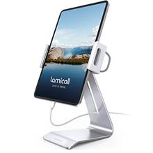 Tablet Stand, Adjustable Tablet Holder Dock - Lamicall 360 Degree Rotating Tab