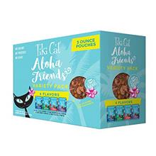 Tiki Cat Aloha Friends Grain Free Wet Cat Food in Pouches for All Life Stages