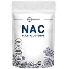 Micro Ingredients Pure NAC Powder (N Acetyl L-Cysteine Powder), 250 Gram, Supp