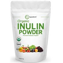 Organic Inulin FOS Powder (Jerusalem Artichoke), 1KG (35 Ounce), Inulin for Ba