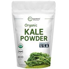 Sustainably US Grown, Kale Powder Organic, 1 Pound (90 Servings), Contains Imm