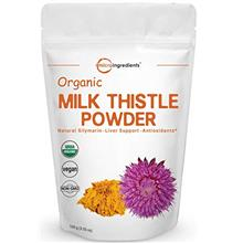 Maximum Strength Organic Milk Thistle Extract, 3.5 Ounces (100 Grams), Pure Mi
