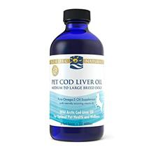 Nordic Naturals Pet CLO Supplement - Cod Liver Oil Omega 3s, DHA, EPA, Promote