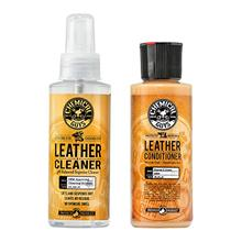 Chemical Guys Leather Cleaner and Conditioner Complete Leather Care Kit (4 Oun