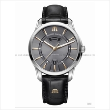MAURICE LACROIX PT6358-SS001-331-1 Pontos Day Date 41mm Leather Grey