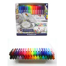 Staedtler Triplus Fineliner 36 Piece Colour