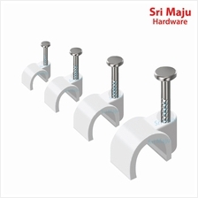 MAJU Quality Cable Clip with Steel Nail