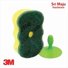 MAJU 3M Scotch Brite EG211 Quality Easy Grip Scouring Sponge