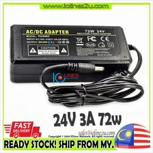 AC to 24V DC 3A 72w Switching Power supply adapter POE desktop Amplifier Water