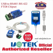UTEK UT-890A FT232 USB to Serial RS485/RS422 DB9 serial Converter Win XP/7/8/1