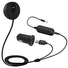 Besign BK01 Bluetooth Car Kit, Wireless Receiver for Handsfree Talking and Mus