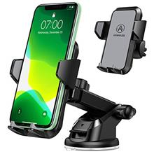 VANMASS Car Phone Mount, Universal Cell Phone Holder for Car Dashboard, Windsh