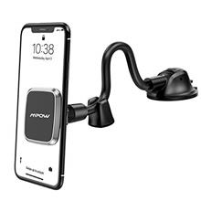 Mpow Car Phone Mount, Dashboard Magnetic Phone Holder with Strong Suction Cup,