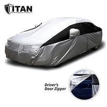 Titan Lightweight Car Cover for Camry, Mustang, Accord and More. Waterproof Ca