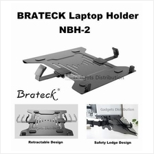 Brateck NBH-2 Steel Laptop Holder Stand Mount Retractable