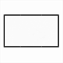 H120 120'' Portable Projector Screen HD 16:9 White 120 Inch Diagonal