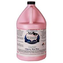 All American Car Care Products Cherry Wet Wax - Premium Soft Paste Polymer Sea