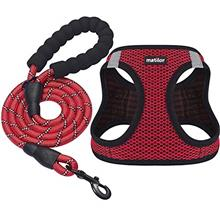 matilor 2 Packs Dog Harness Step-in Breathable Puppy Cat Dog Vest Harnesses fo