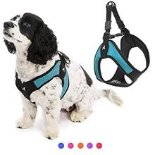Gooby Dog Harness - Escape Free Easy Fit Patented Step-in Small Dog Harness -