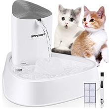 URPOWER Pet Fountain, Upgraded Automatic Cat Fountain Dog Water Fountain Cat W