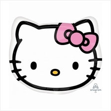 Hello Kitty® Head 13in Junior Shape Foil Balloon 21842 Party Deco