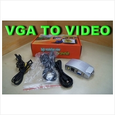 VIDEO CONVERTOR , VGA TO VIDEO (FOR PROJECTOR OR TV)