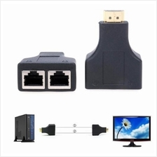 HDMI Over RJ45 CAT5e CAT6 UTP LAN Ethernet Balun Extender