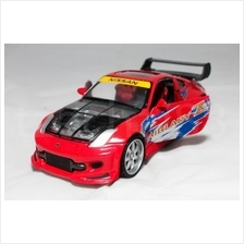 Newray 1:24 DIECAST X-Tuner Nissan Fairlady 350Z Car Red Color Model
