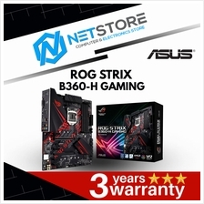 ASUS ROG STRIX B360-H GAMING LGA 1151 (300 Series) ATX Motherboard