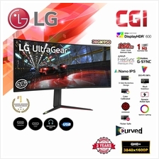 "LG 38"" 38GN950 144Hz 1ms G-Sync UltraGear Curved WQHD Nano IPS Monitor"