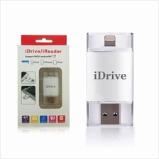 iDrive iFlash iPhone SE 5 5S 6 iPad USB OTG Pendrive 16GB 32GB 64GB