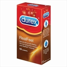 DUREX REAL FEEL CONDOMS 10S (NON-LATEX CONDOM)