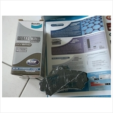 BENDIX METAL KING TITANIUM FRONT BRAKE PAD for WAJA 1.6 ALZA.