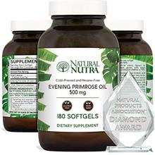 Natural Nutra Evening Primrose Oil Supplement from Fatty Acid, Reduce Acne, Ba