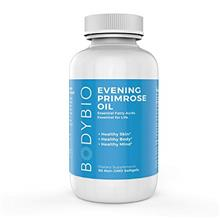 BodyBio Evening Primrose Oil - Natural Gamma Linolenic Acid for Healthy Skin