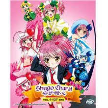 Shugo Chara Season 1-3 Shugo Chara + Doki + Party Japanese Anime DVD
