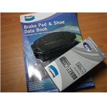 BENDIX METAL KING TITANIUM FRONT BRAKE PAD For HONDA CITY 09-13, CR-Z