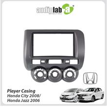 Double Din Car DVD Player Casing For Honda City 2008/ Honda Jazz 2006