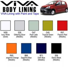 Perodua Viva Side Door Moulding / Body Lining (All Colors Available)