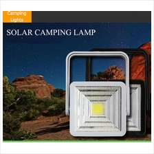 Led Solar Lamp USB Charger Power bank Portable Generator Camping Light