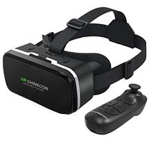 VR Headset with Remote Controller 3D Glasses Goggles HD Virtual Reality Headse