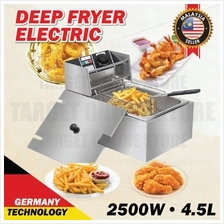Electric Deep Fryer 4.5L 2500W Fast Food Frying (GERMANY TECHNOLOGY)