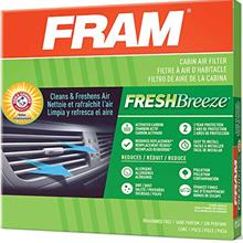 FRAM Fresh Breeze Cabin Air Filter with Arm & Hammer Baking Soda, CF10134 for