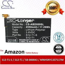Original CS Tablet Battery Model ABD009SL Amazon 58-000043 Battery