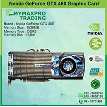 NVIDIA GeForce GTX 480 1.5GB DDR5 384bit Dual DVI Mini-HDMI