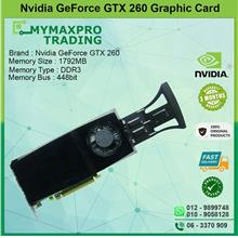 NVIDIA GeForce GTX 260 1.75GB DDR3 448bit Dual DVI TV-Out Graphic Card